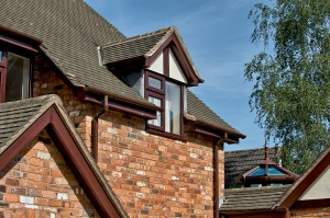 Complemented by the traditional half round guttering