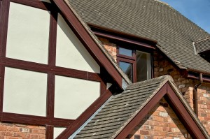 Rosewood Tudor beams